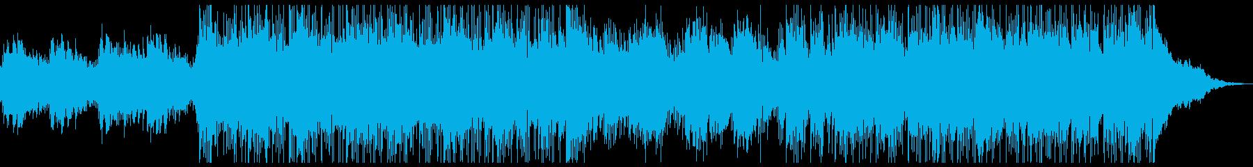 幻想的で透明感のあるジャズ系インストの再生済みの波形
