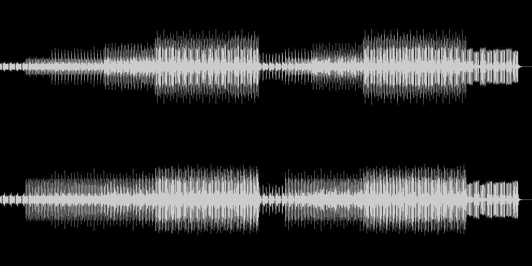 かわいい、ゆるい、コミカル-06の未再生の波形