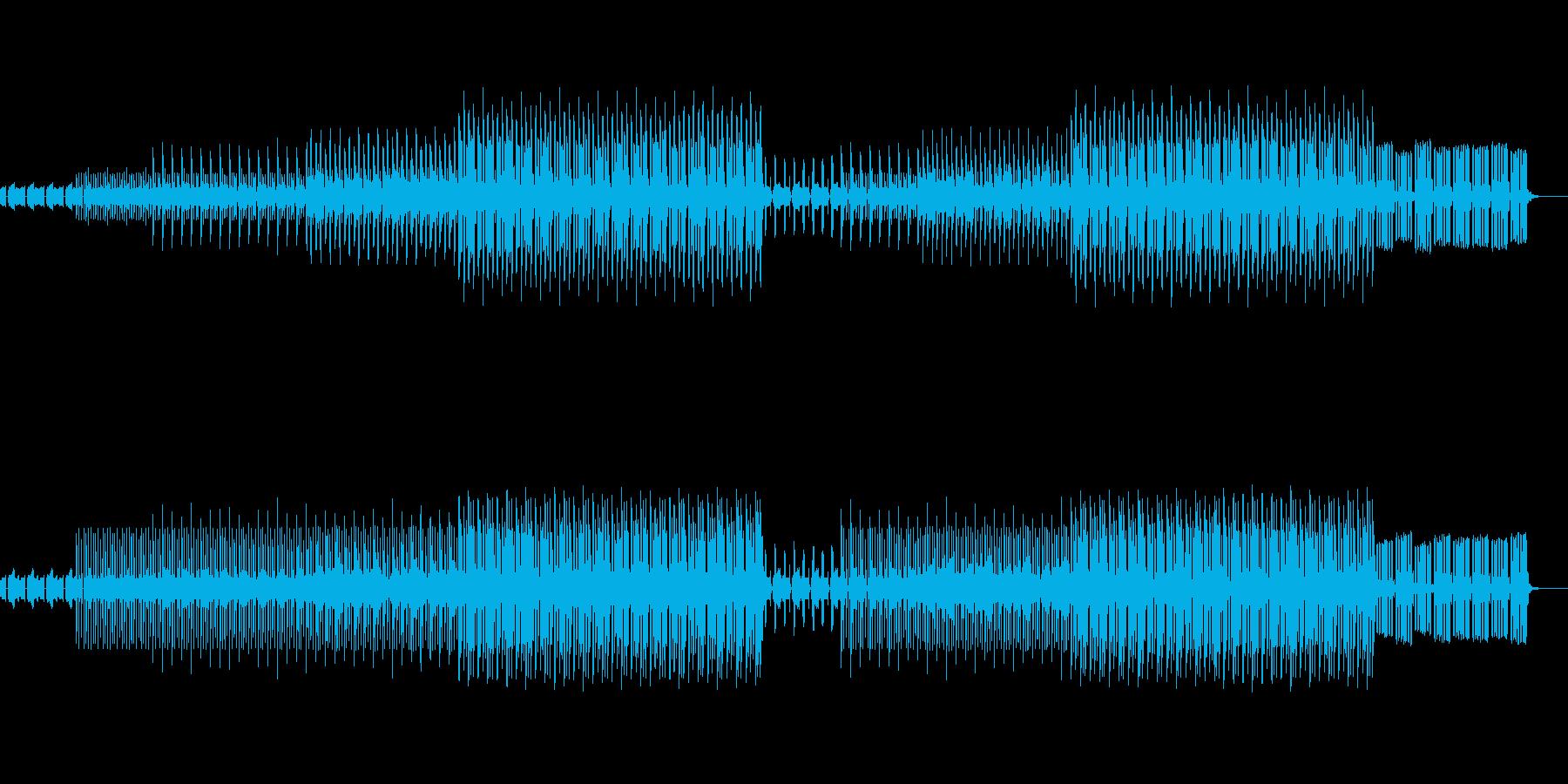 かわいい、ゆるい、コミカル-06の再生済みの波形