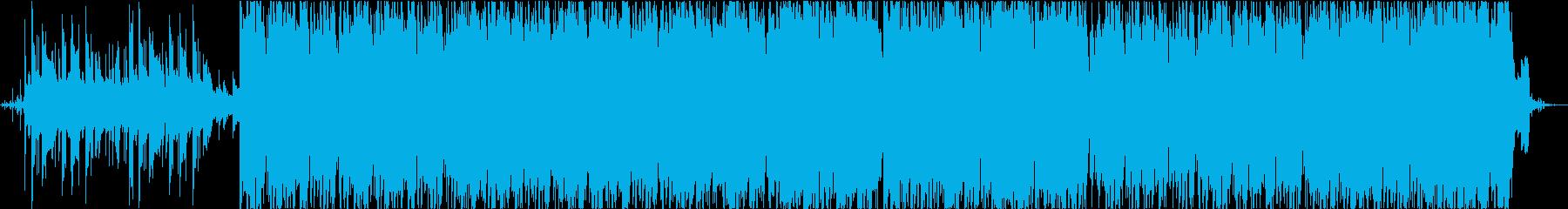 クラシックヒップホップ、背景の再生済みの波形