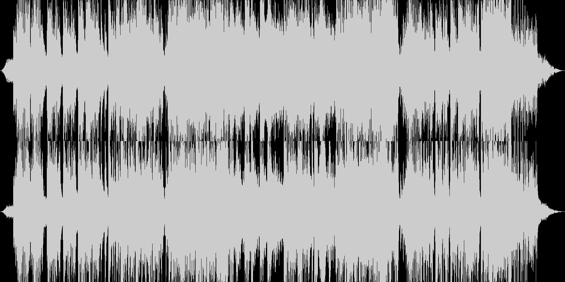 夜空に包み込まれるようなピアノの未再生の波形