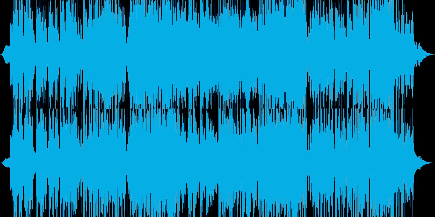 夜空に包み込まれるようなピアノの再生済みの波形