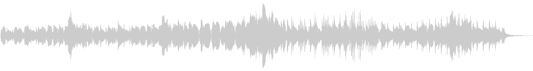 クラリネットでアラフォー応援ソングの未再生の波形