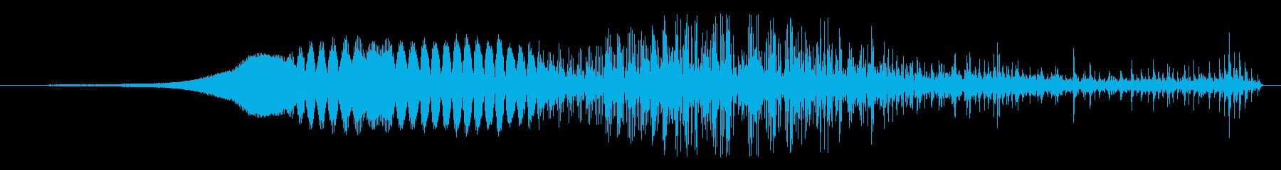 ゾンビ 人間の変化12の再生済みの波形