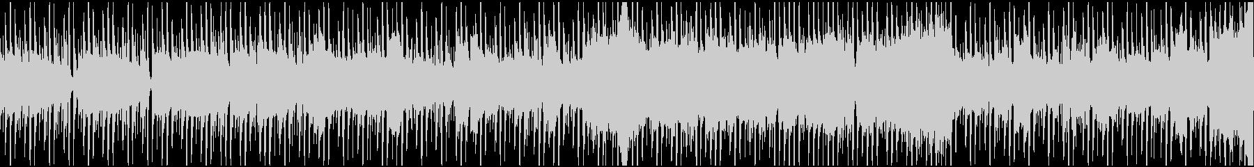 スタイリッシュ スピード感 ループの未再生の波形