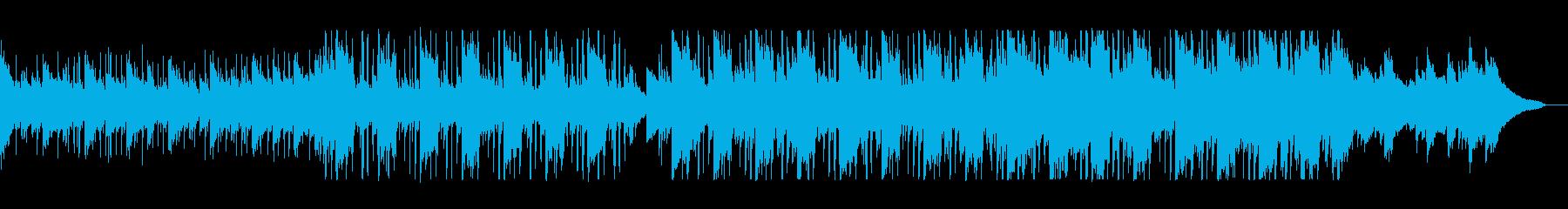 おしゃれなヒップホップの再生済みの波形