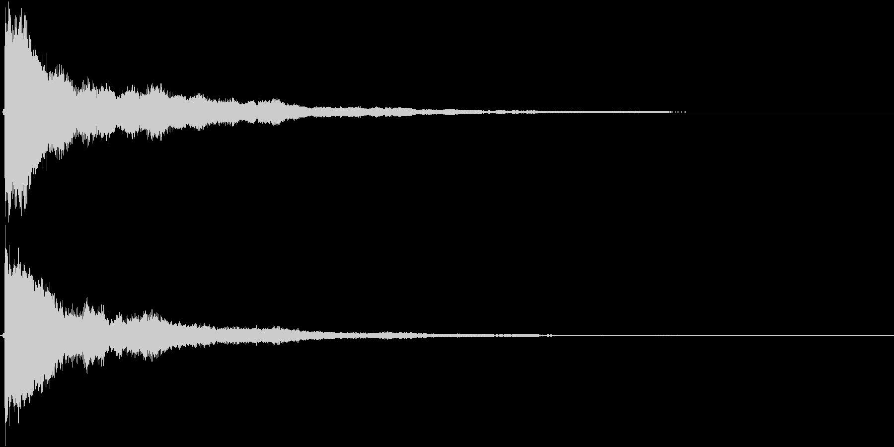 カーン(鐘、教会、結婚式)の未再生の波形