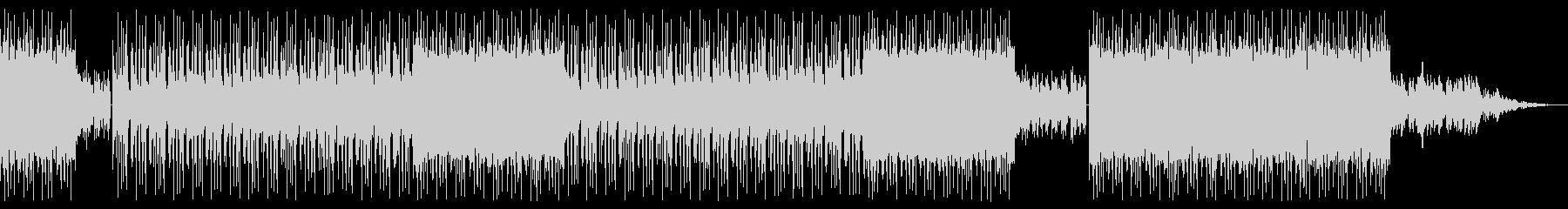 壮大で儚げなBGMの未再生の波形