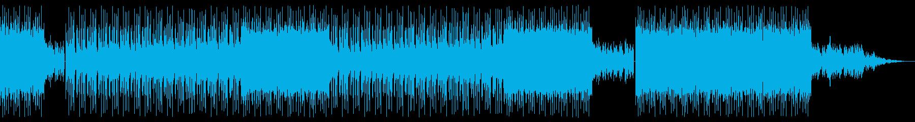 壮大で儚げなBGMの再生済みの波形