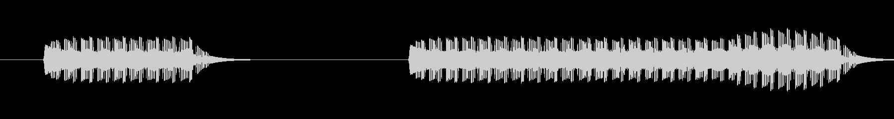 ゲーム、クイズ(ブー音)_013の未再生の波形