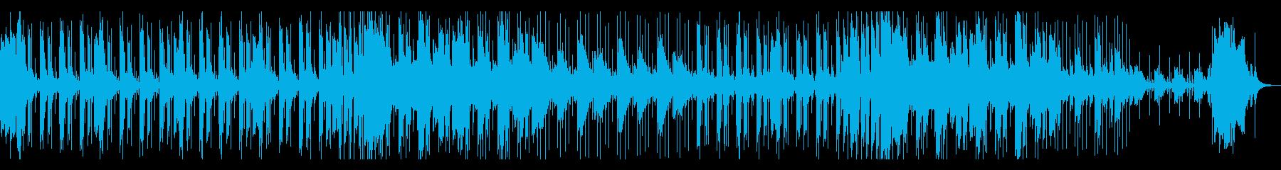 レトロ感漂うEピアノのチルアウトの再生済みの波形