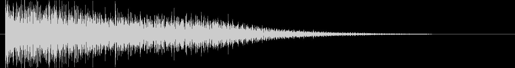 映画告知音116 ドーンの未再生の波形