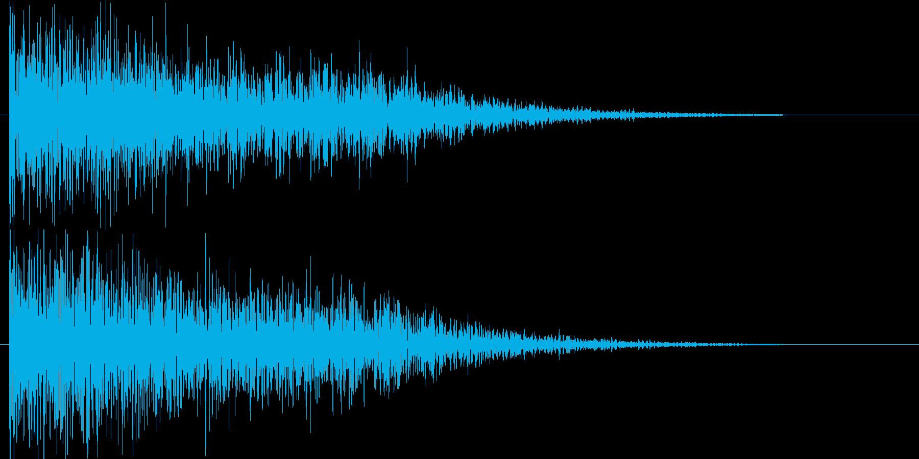映画告知音116 ドーンの再生済みの波形
