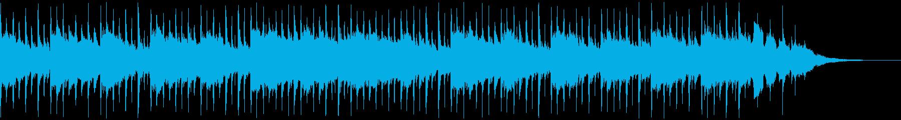 インタビュー(40秒)の再生済みの波形