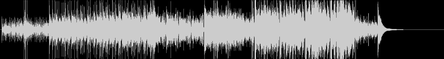 バンジョーを使用した軽快コミカルなBGMの未再生の波形