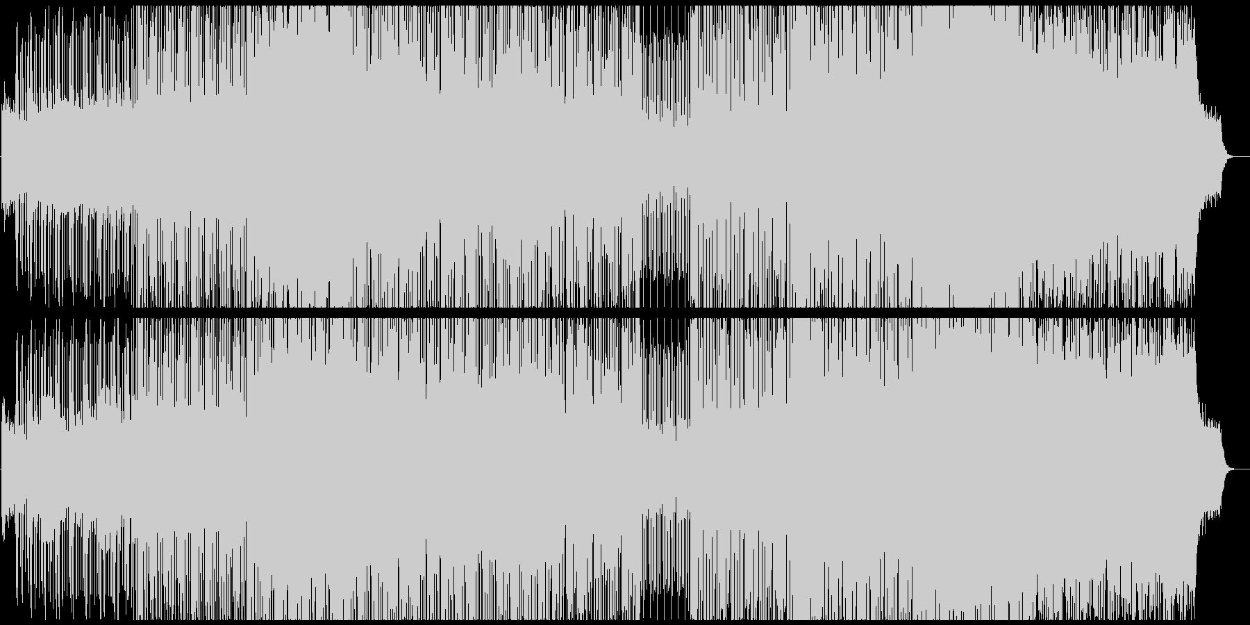80s感溢れるヴェイパーウェイヴの未再生の波形