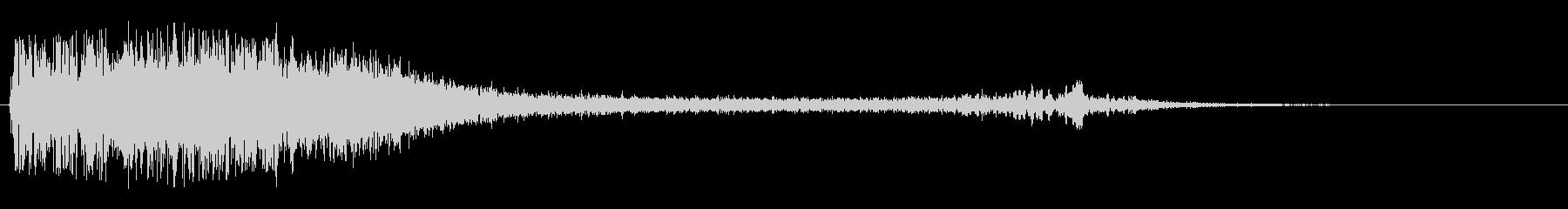 ウィーン(ワープの音)の未再生の波形