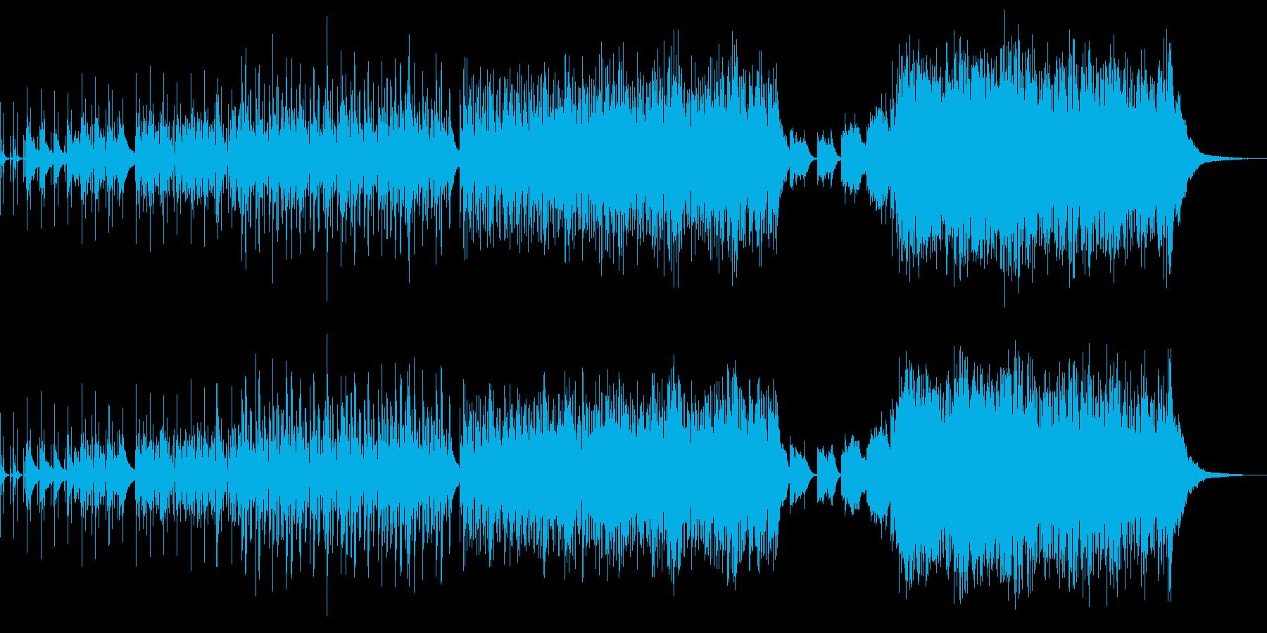 ミステリー:OP・ED用BGM3の再生済みの波形