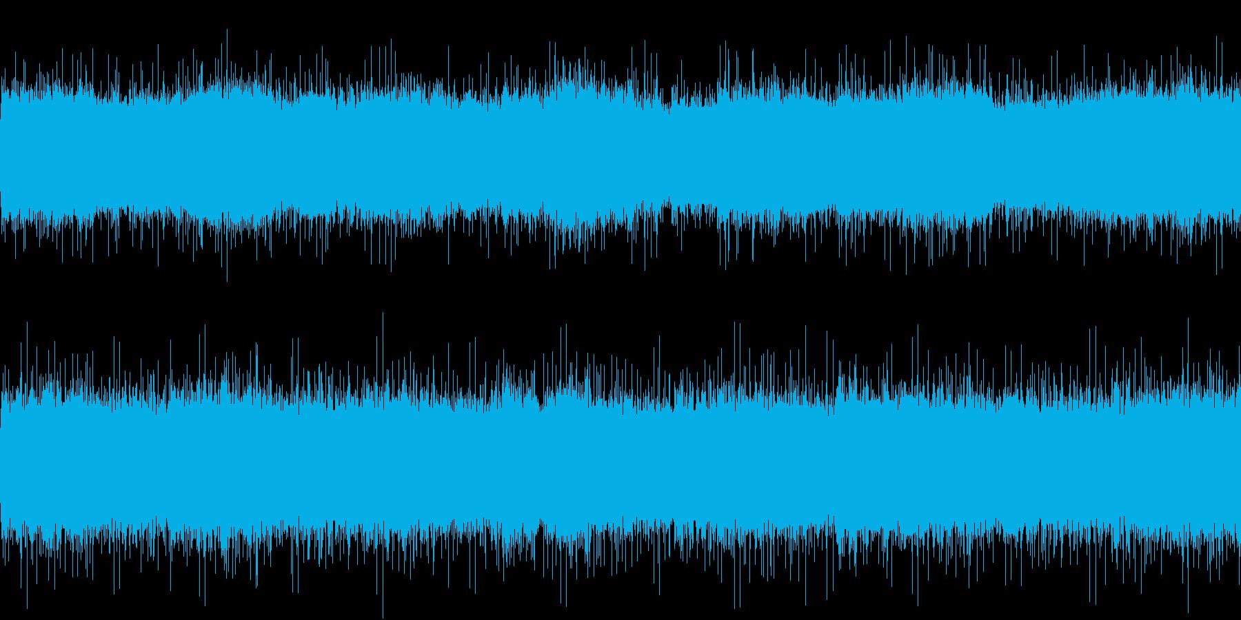 【環境音25分】晴れの田舎の小川、鳥や虫の再生済みの波形