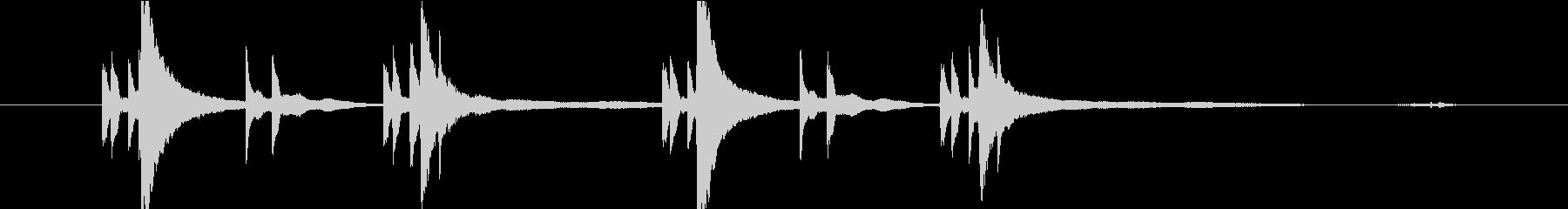 ランウェイ242019過去の回想kaisouの未再生の波形
