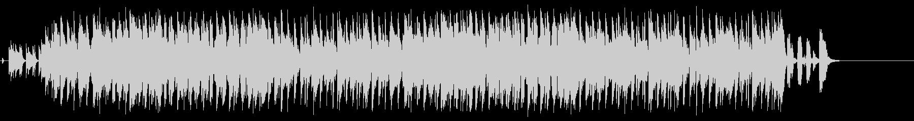 笑顔のピエロのコミカルなジャズポップの未再生の波形