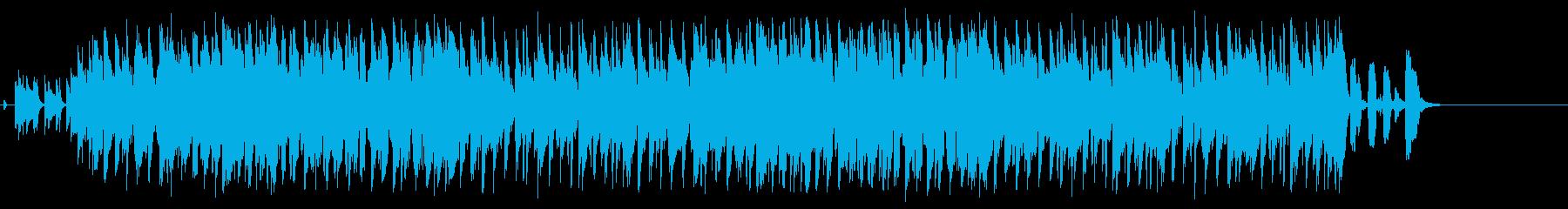 笑顔のピエロのコミカルなジャズポップの再生済みの波形