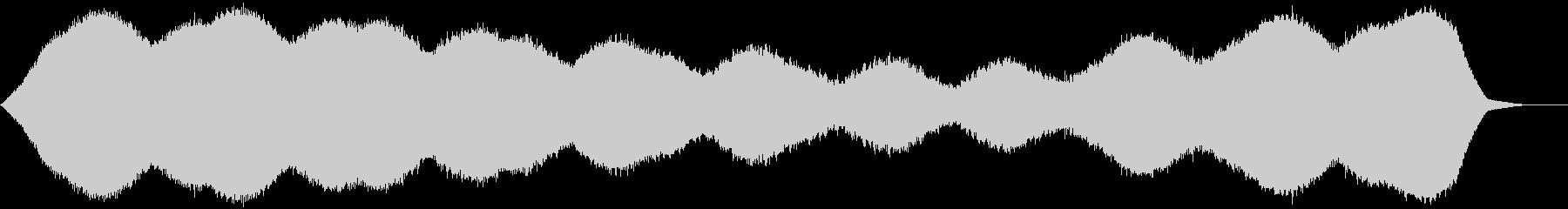 【アンビエント】ドローン_16 実験音の未再生の波形