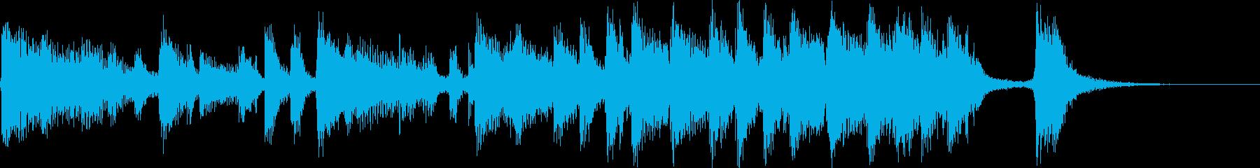 【ジングル】情熱のフラメンコ(長ver)の再生済みの波形
