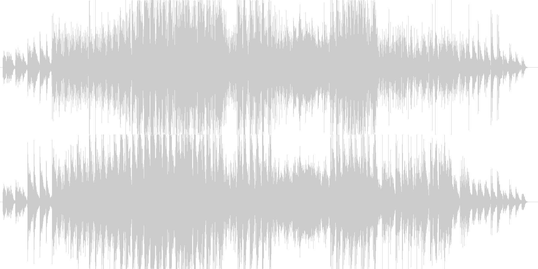 Birdcall Luluの未再生の波形