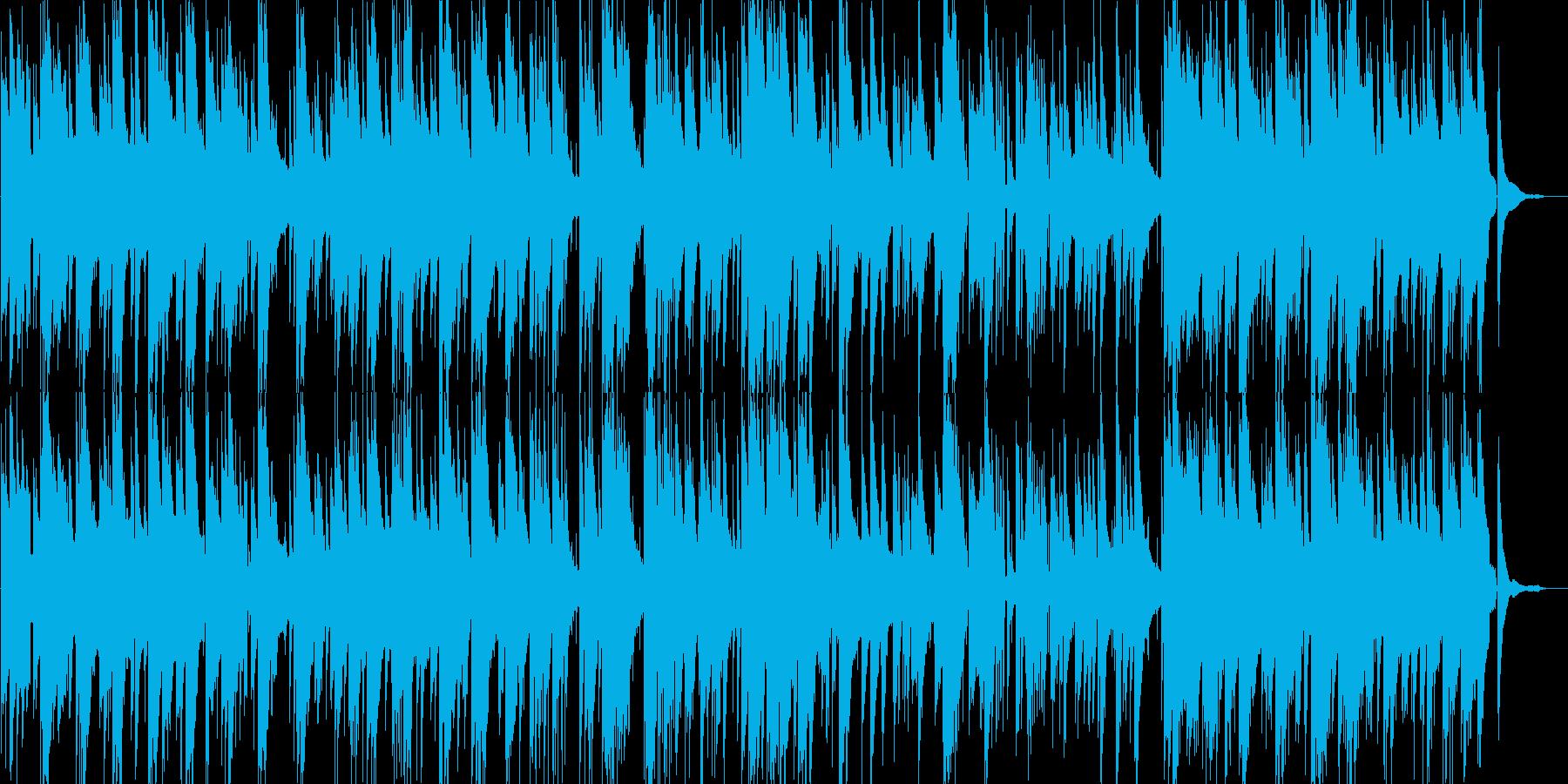 ロシア民謡のボサノバアレンジの再生済みの波形