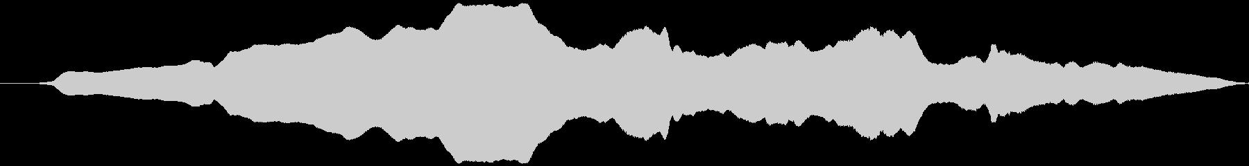 可愛く動く風(オノマトペ)ヒョウィッの未再生の波形