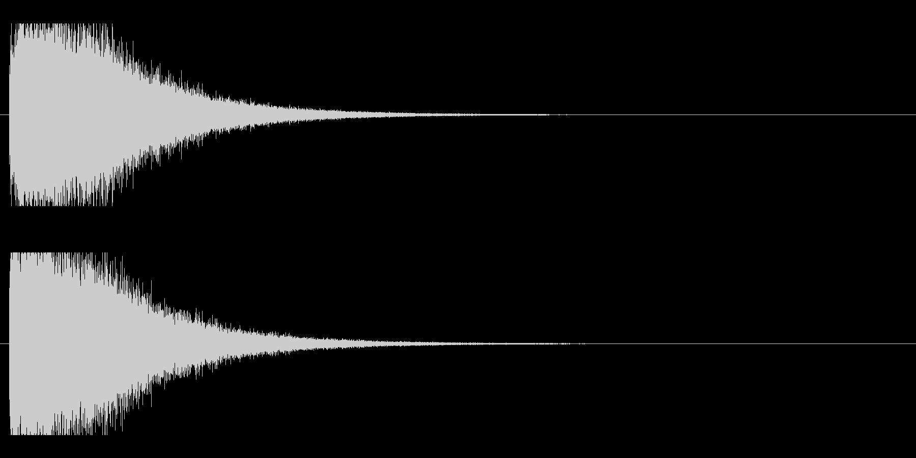 レーザー音-78-2の未再生の波形