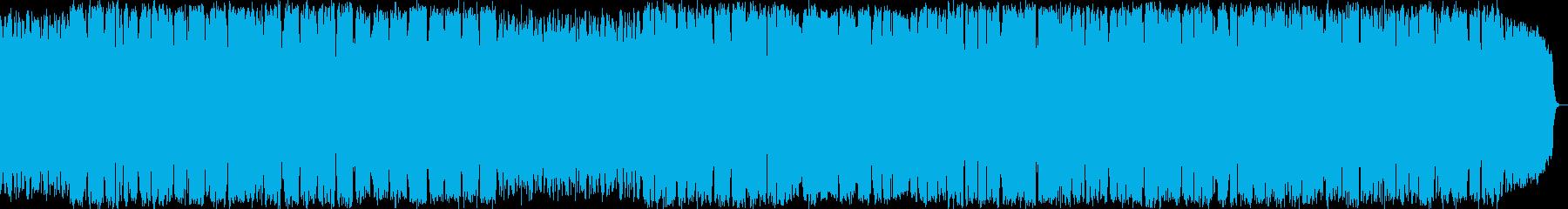 森の瞑想 竹笛のヒーリングミュージックの再生済みの波形