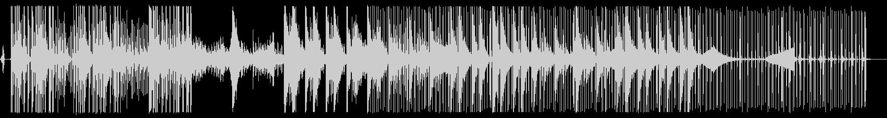 イカの歌 春 イカスミ EDM Futuの未再生の波形