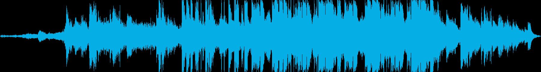 深海に漂うようなピアノの旋律とシンセの再生済みの波形