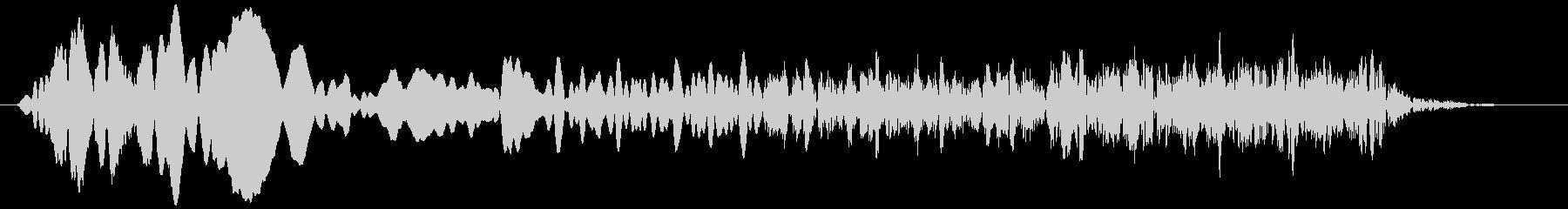 トンビ(トビ、鳶) ピーヒョロロロ 短めの未再生の波形