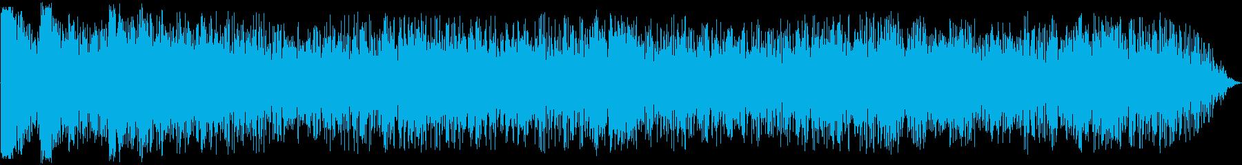 大型車の爆発と爆発爆発と爆弾の再生済みの波形