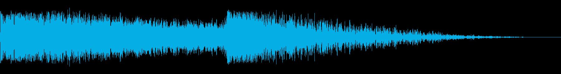 ビッグシグナルスウィープアンドドロ...の再生済みの波形