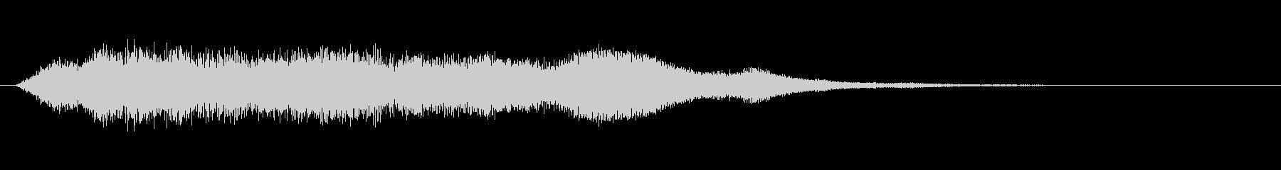 奇妙な鐘の未再生の波形
