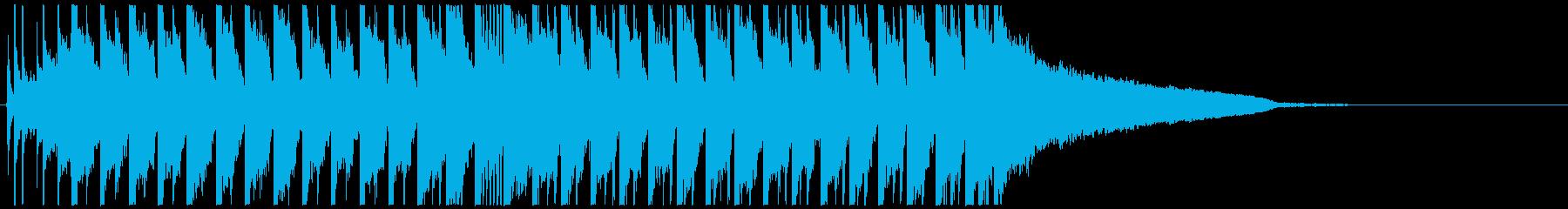 不思議でコミカルなEDM TIKTOKの再生済みの波形