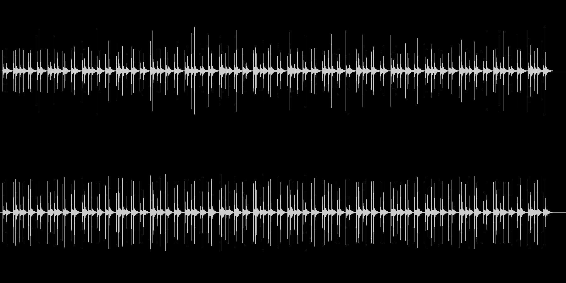 ファンタジーなシンセサイザーサウンドの未再生の波形