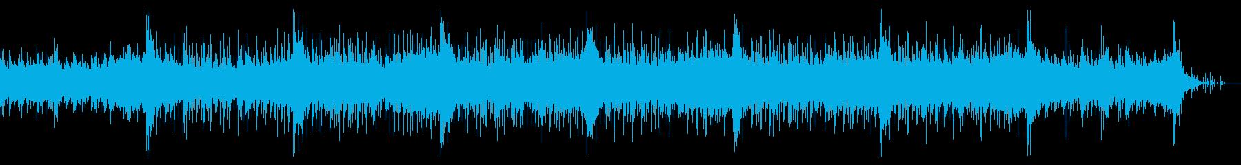 無機質でダークなIDMテクスチャーの再生済みの波形