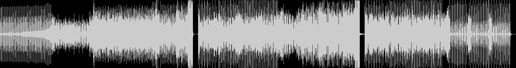 80s感あるクールなEDMの未再生の波形
