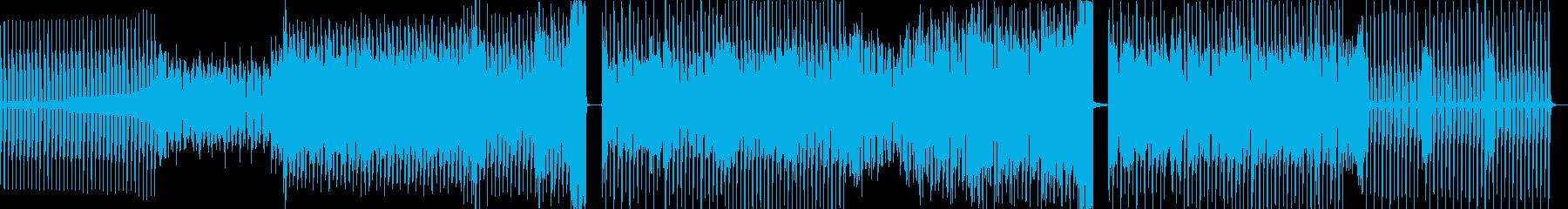 80s感あるクールなEDMの再生済みの波形