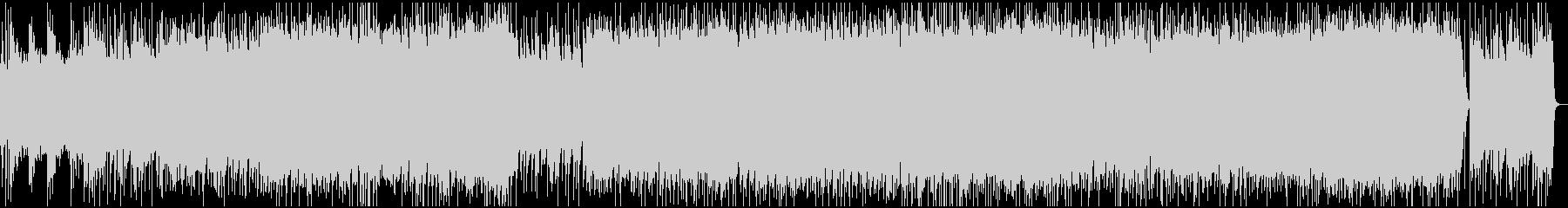 渋いグランジロック・生ギターベースの未再生の波形