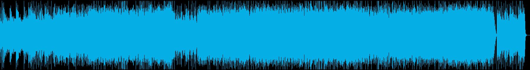 渋いグランジロック・生ギターベースの再生済みの波形