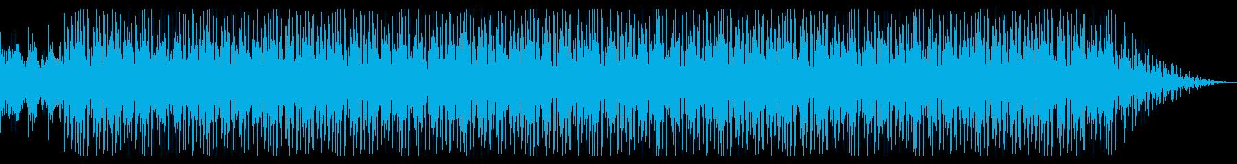 ピアノ主体でドリーミーな落ち着いた曲の再生済みの波形