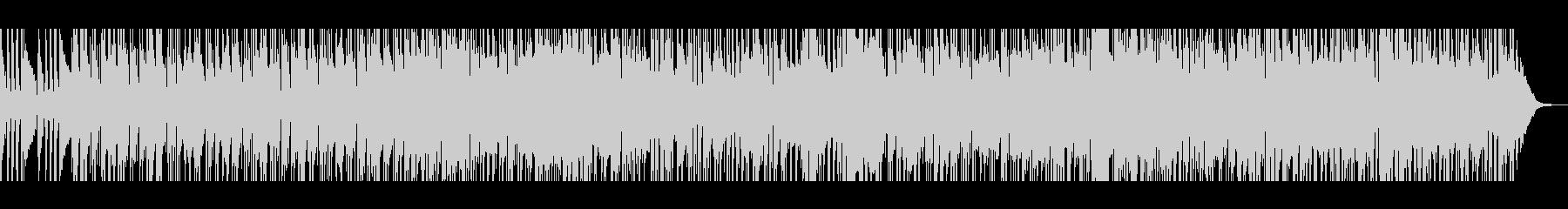 ピアノメロディーのムーディーなボサノバの未再生の波形