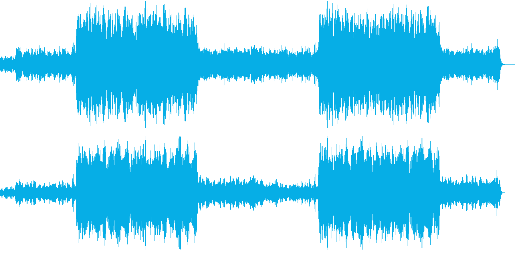 高原を意識した伸びやかなオーケストラの再生済みの波形