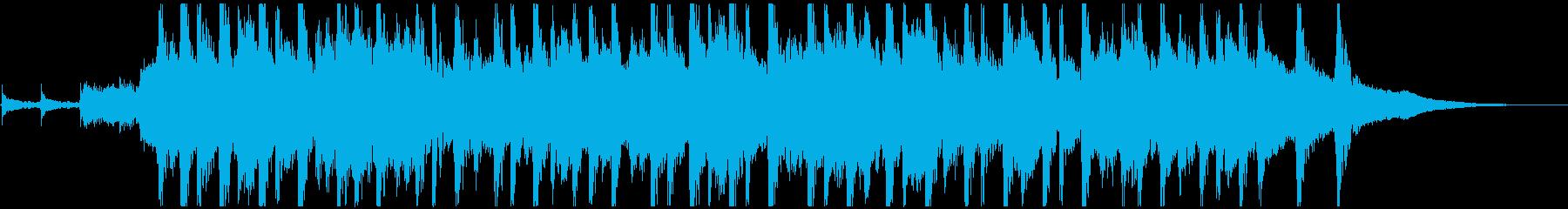 ピッチカート 可愛いマリンバ ジングルBの再生済みの波形